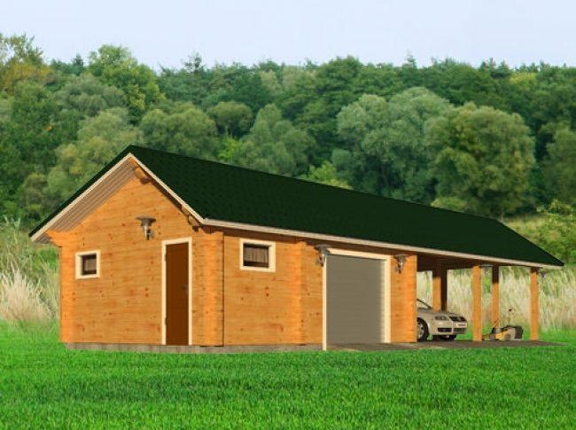 Проект гаража-139