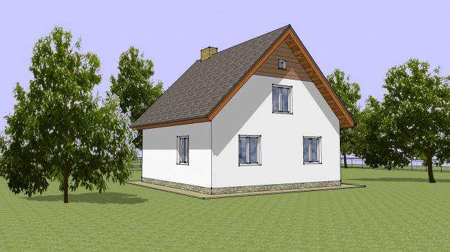 Проект дома-650