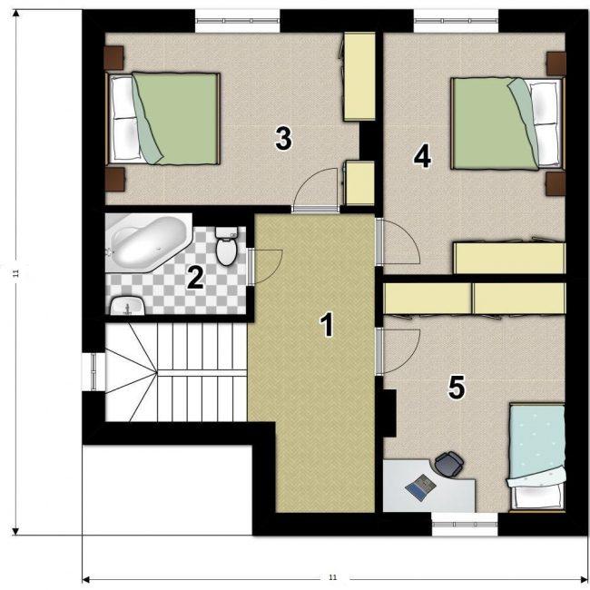 Проект дома-715