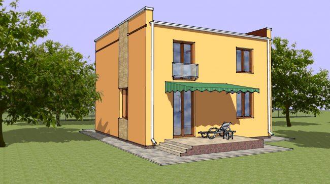 Проект дома-663