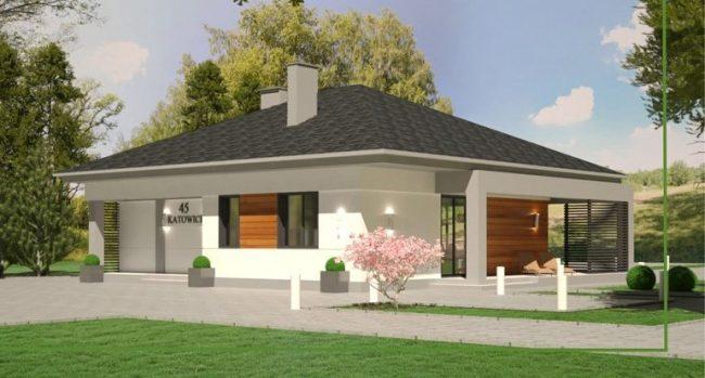 Проект дома-709