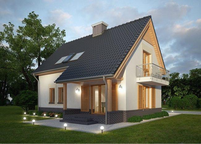 Проект дома-77