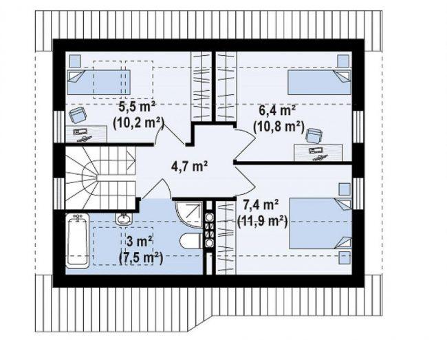 Проект дома-12