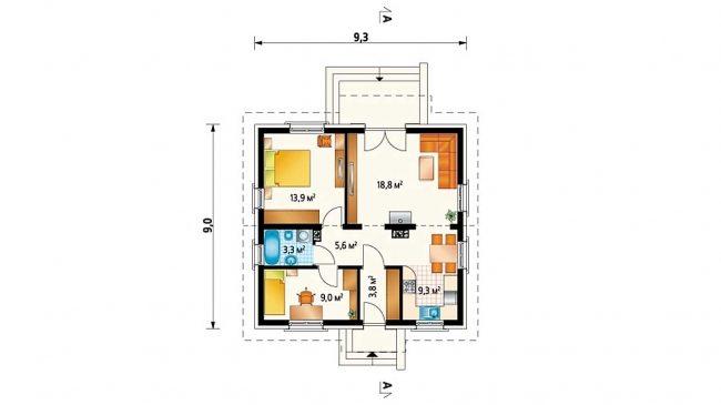 Проект дома-46