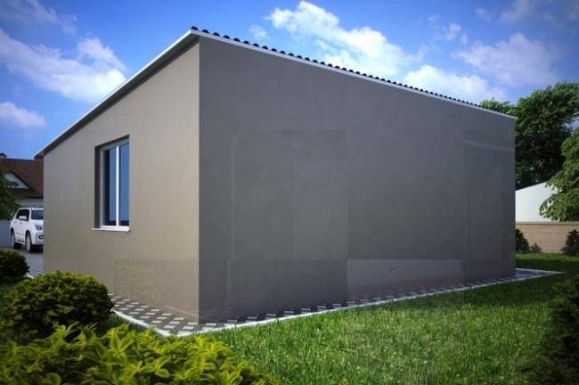 Проект гаража-151