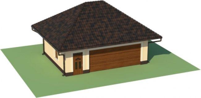 Проект гаража-164