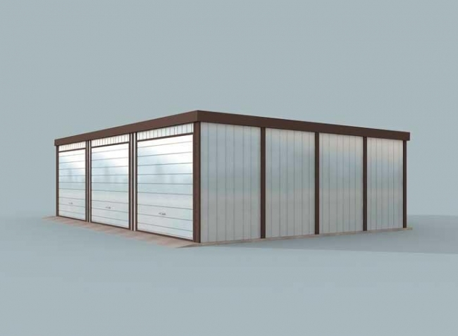 Проект гаража-122