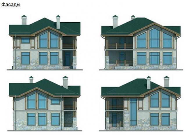 Проект дома-108