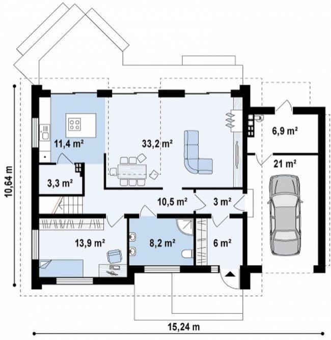 Проект дома-94