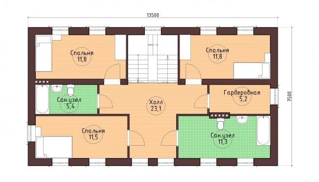 Проект дома-25