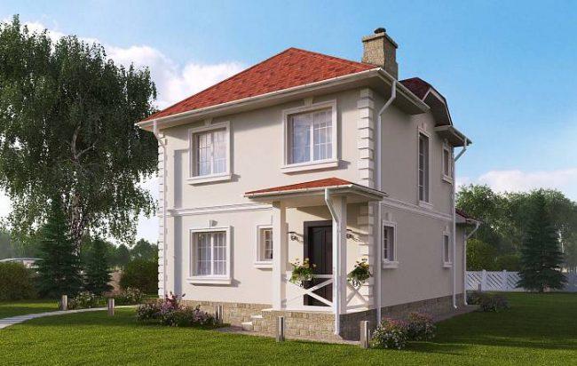 Проект дома-608