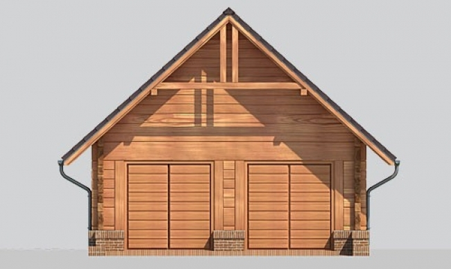 Проект гаража-156