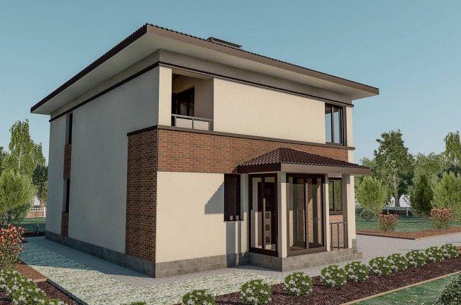 Проект дома-63