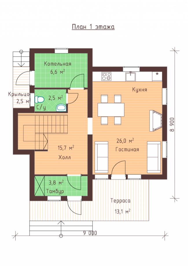 Проект дома-48