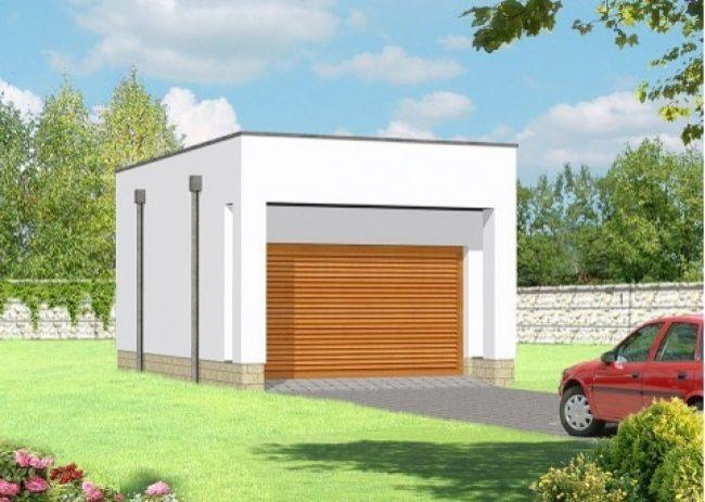 Проект гаража-68