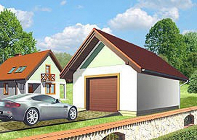 Проект гаража-61