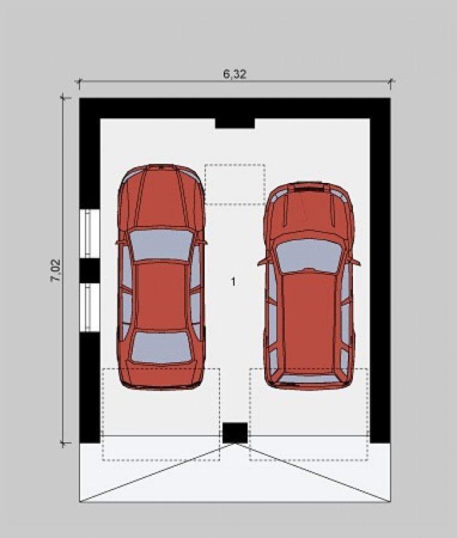 Проект гаража-93