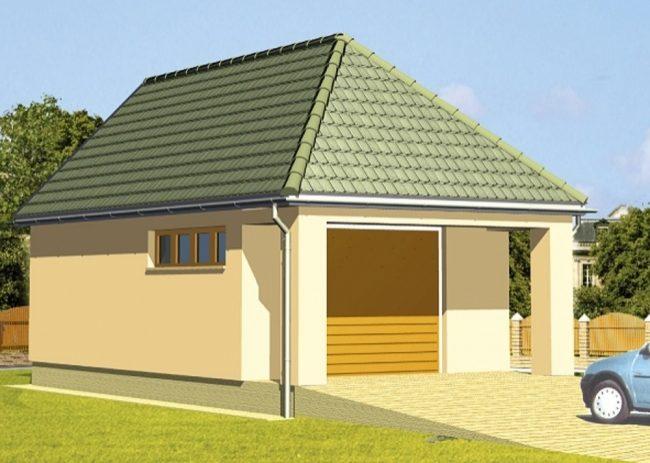 Проект гаража-71