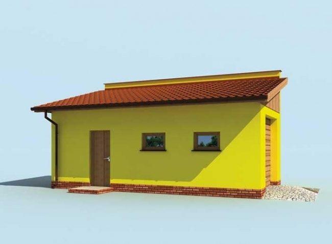 Проект гаража-46
