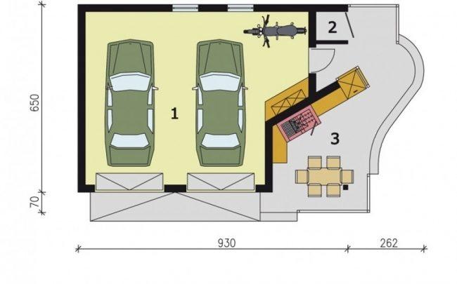 Проект гаража-193