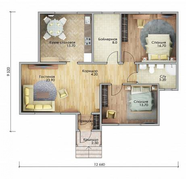 Проект дома-652