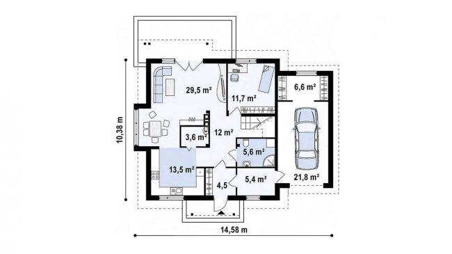 Проект дома-89