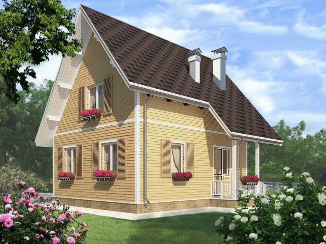 Проект дома-633