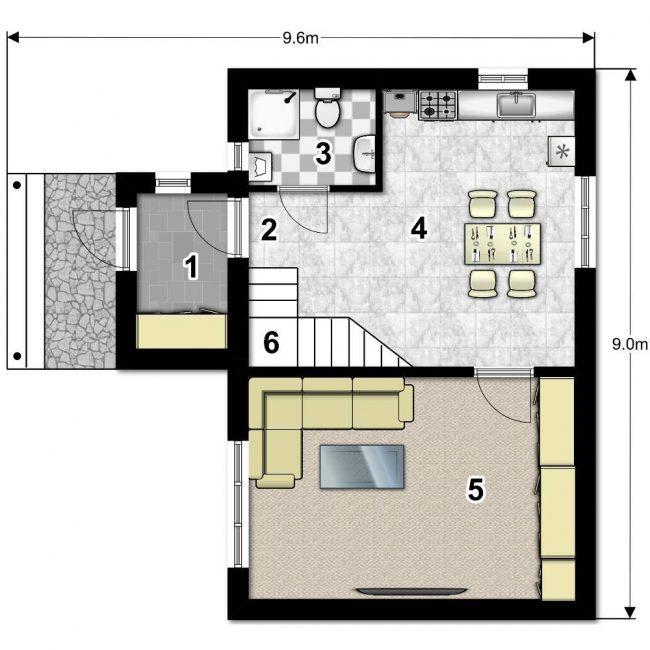 Проект дома-634