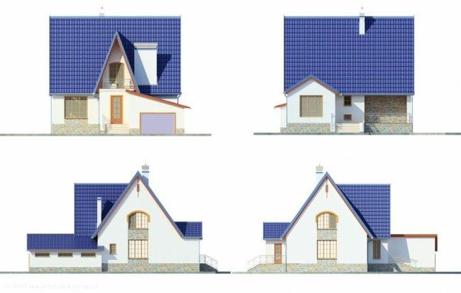 Проект дома-93