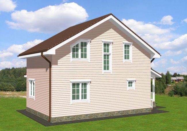 Проект дома-705