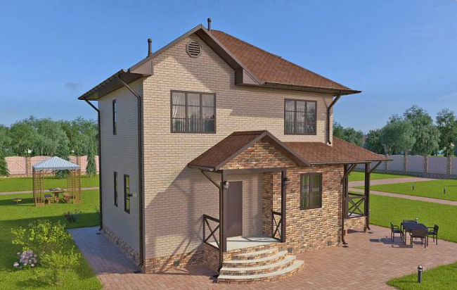Проект дома-602