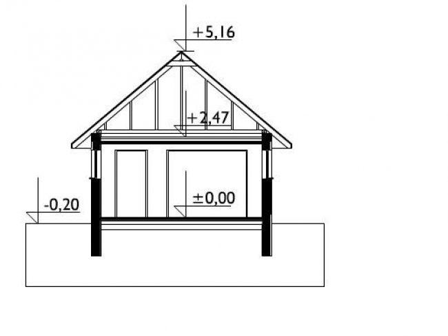 Проект гаража-66