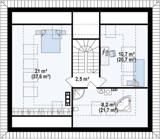 Проект дома-199