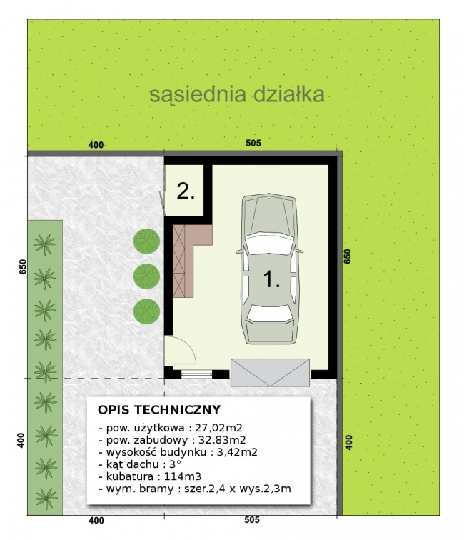 Проект гаража-58