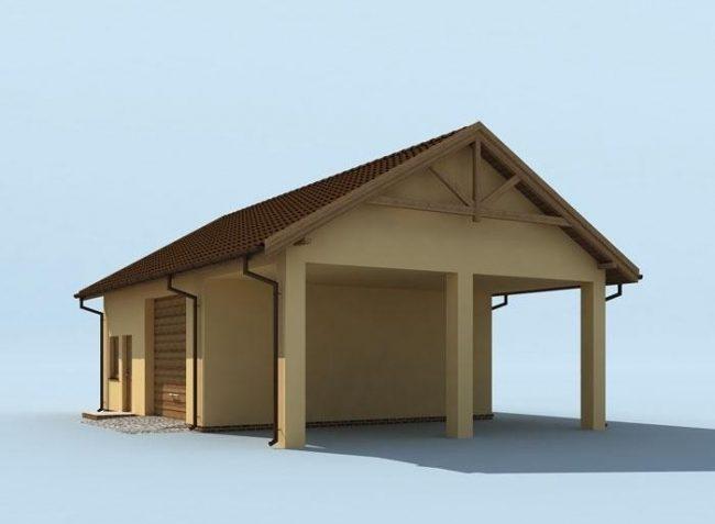 Проект гаража-226