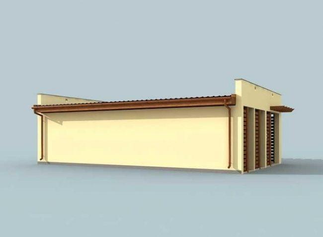 Проект гаража-194
