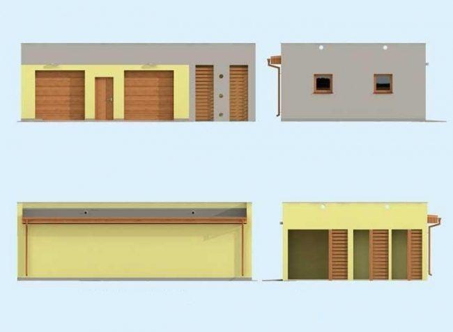 Проект гаража-195