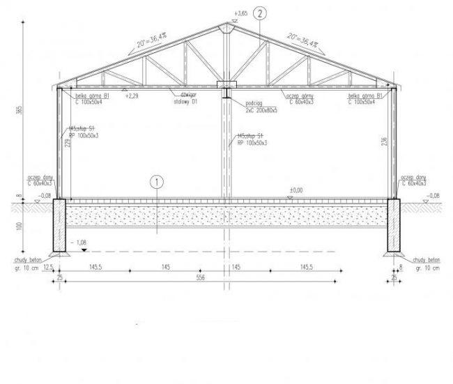 Проект гаража-63