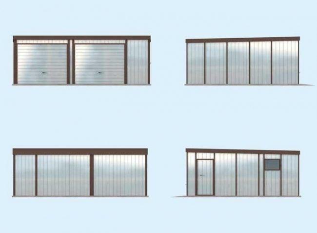 Проект гаража-88
