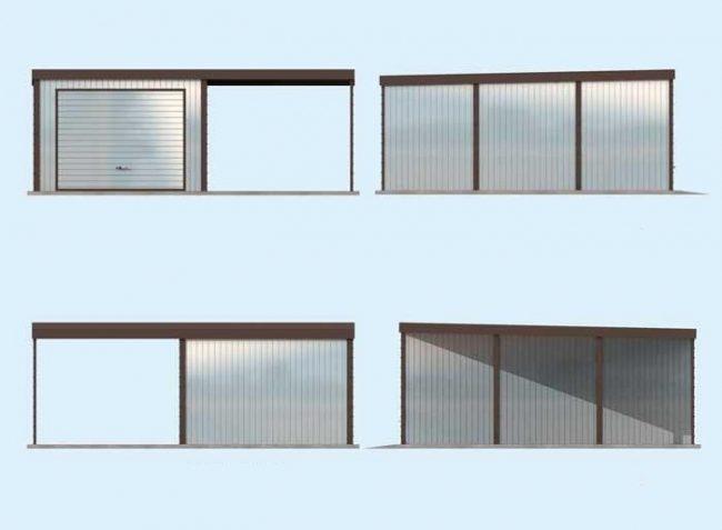 Проект гаража-57
