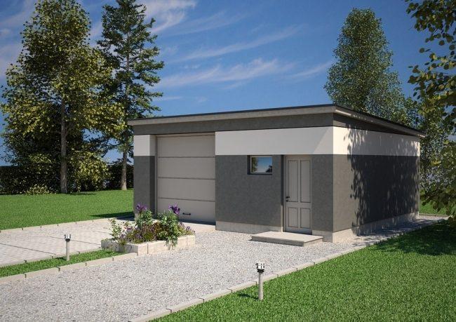 Проект гаража-201