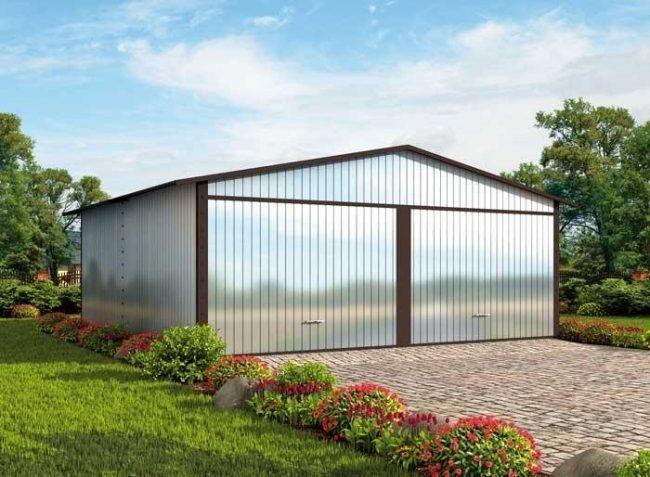 Проект гаража-98