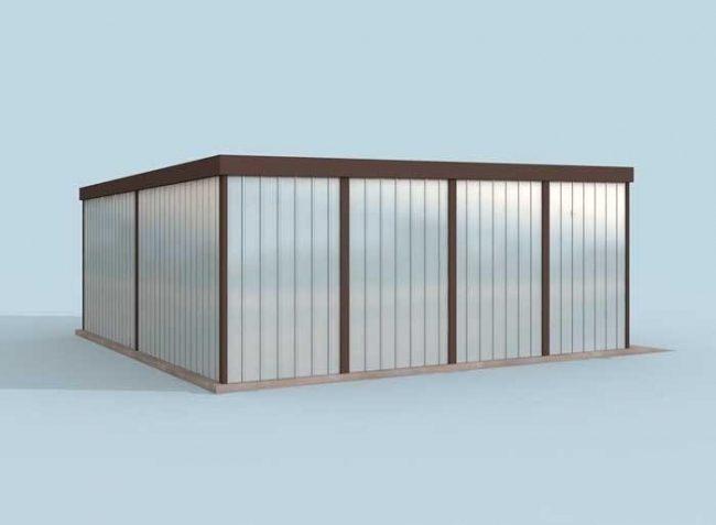 Проект гаража-55