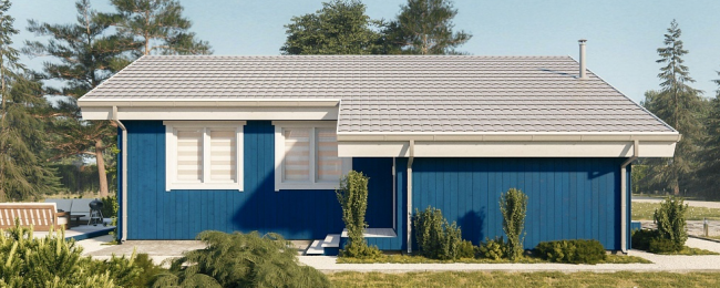Проект дома-599