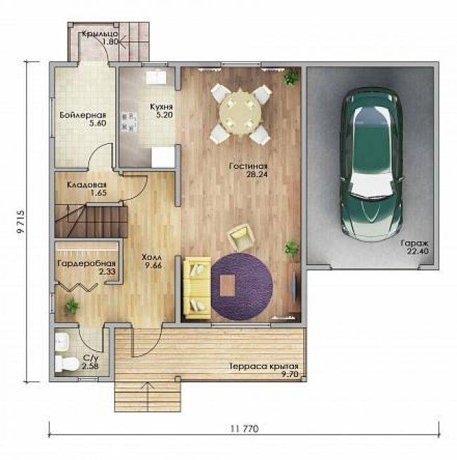 Проект дома-693