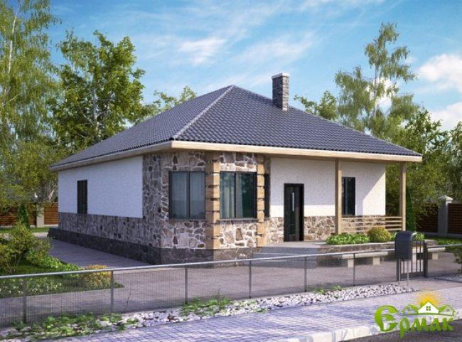 Проект дома-485