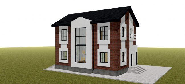 Проект дома-422