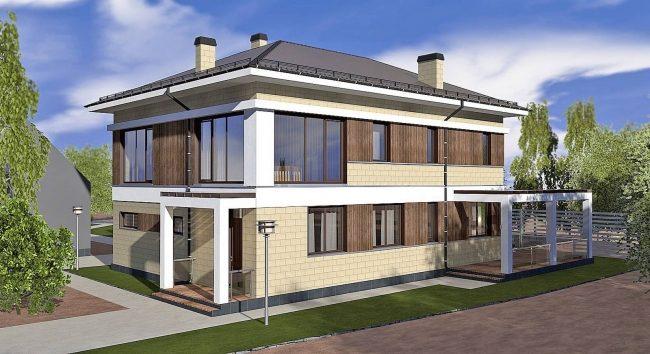 Проект дома-90