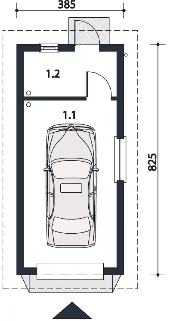 Проект гаража-42