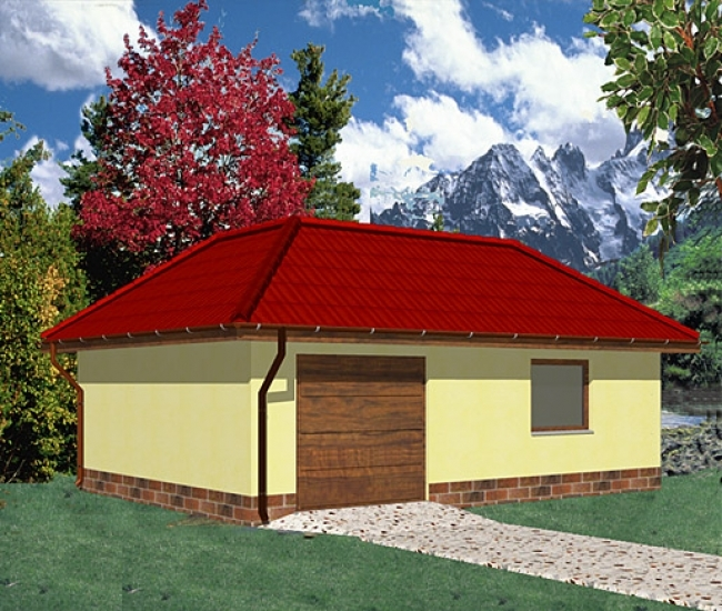 Проект гаража-107